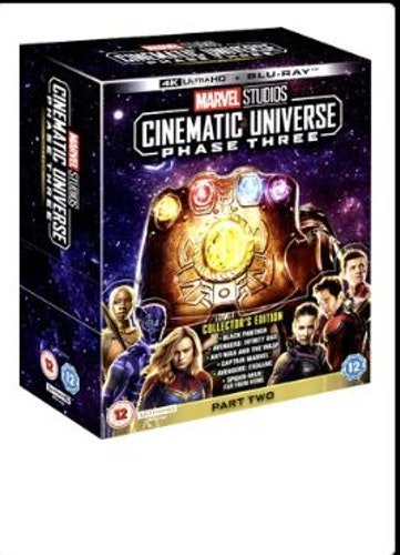 Marvel Studios Cinematic Universe Phase 3 Part 2 (6 Films) 4K Ultra HD + Bluray (import med svensk text)