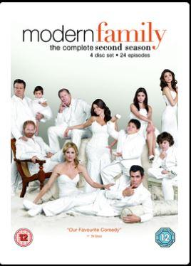 Modern Family - Säsong 2 DVD