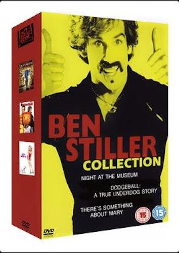 Natt på museet / Dodgeball / Den där Mary (box med tre filmer) DVD