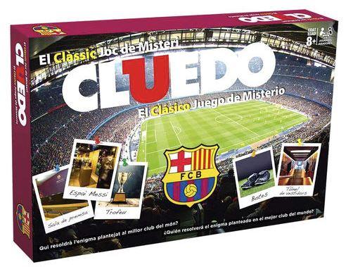 FC Barcelona cluedo (på spanska)