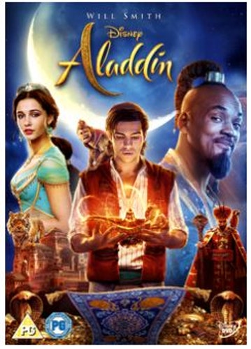 Disneys Aladdin DVD 2019