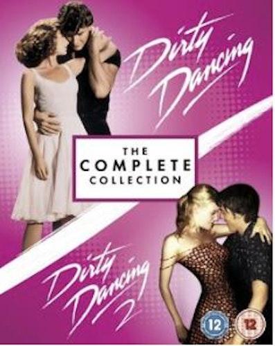 Dirty Dancing 1+2 bluray box (import)
