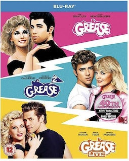 Grease + Grease 2 + Grease Live - Anniversary Edition
