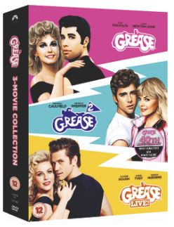 Grease + Grease 2 + Grease Live - Anniversary Edition DVD