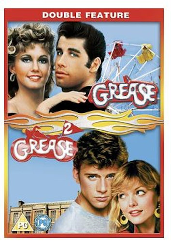 Grease + Grease 2 DVD