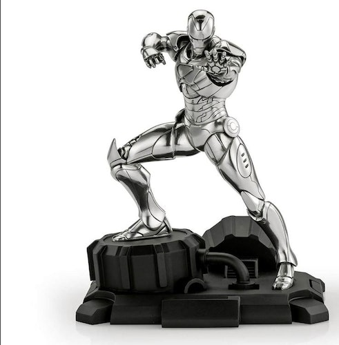 Royal Selangor Marvel Iron Man Limited Edition Pewter Figurine 23.5cm