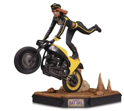 Gotham City Garage Batgirl Statue