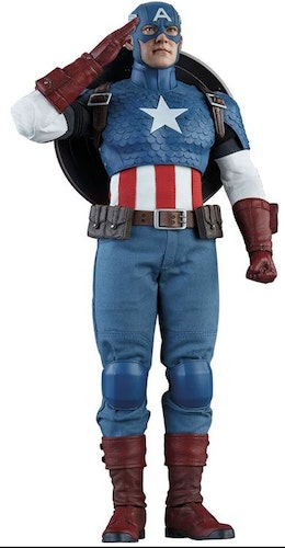 Collectibles Marvel Comics Captain America 1/6 Action Figure 30cm
