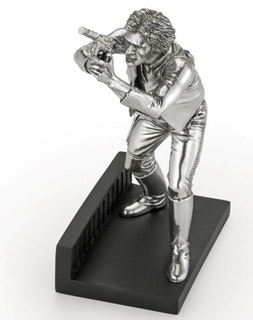 Star Wars Han Solo Limited Edition Pewter Figurine 21cm