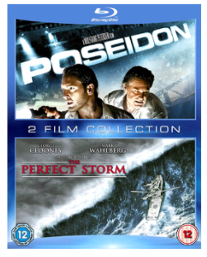 Poseidon + The Perfect Storm bluray (import med svensk text)