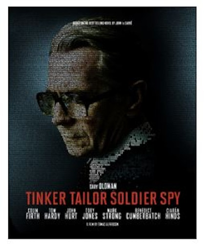 Tinker Tailor Soldier Spy - Limited Edition Steelbook Bluray + DVD (import)