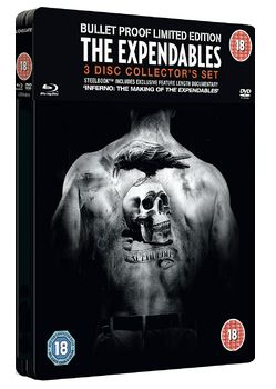 The Expendables Steelbook DVD + bluray (import)
