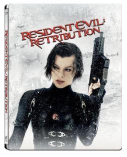 Resident Evil - Retribution 3D Steelbook bluray (import med svensk text)