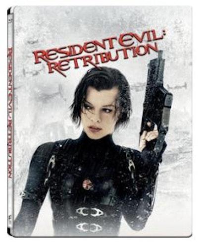 Resident Evil - Retribution 2D+3D Steelbook bluray (import med svensk text)