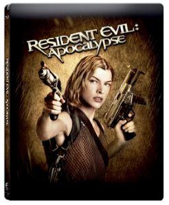 Resident Evil - Apocalypse Steelbook bluray (med svensk text)