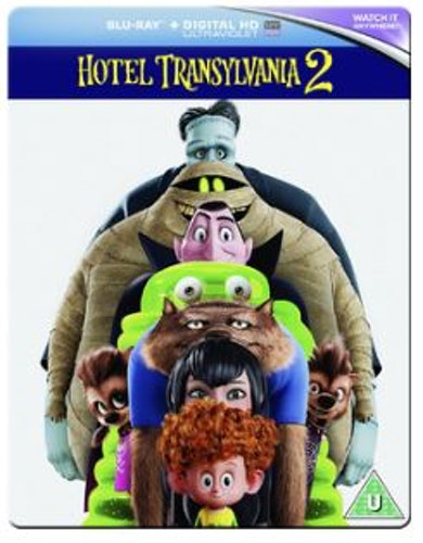 Hotell Transylvanien 2 Steelbook bluray (import)