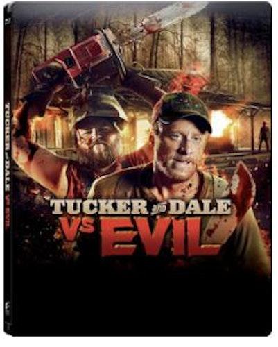 Tucker & Dale Vs Evil Steelbook bluray (import)