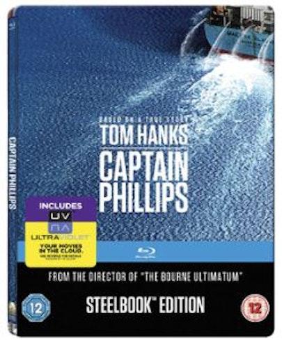 Captain Phillips Steelbook bluray (har svensk text)