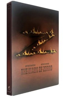 The Mask Of Zorro Steelbook bluray (har svensk text)