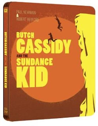Butch Cassidy And The Sundance Kid Steelbook bluray
