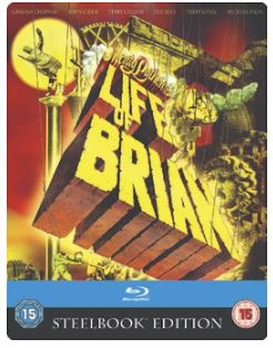 Monty Pythons - Life Of Brian Steelbook bluray (import med svensk text)