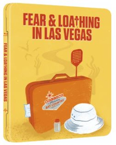 Fear And Loathing In Las Vegas Steelbook bluray (import med svensk text)