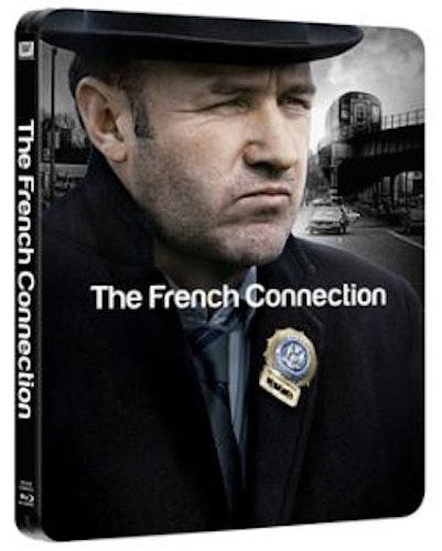 The French Connection/Lagens våldsamma män Steelbook bluray (import)