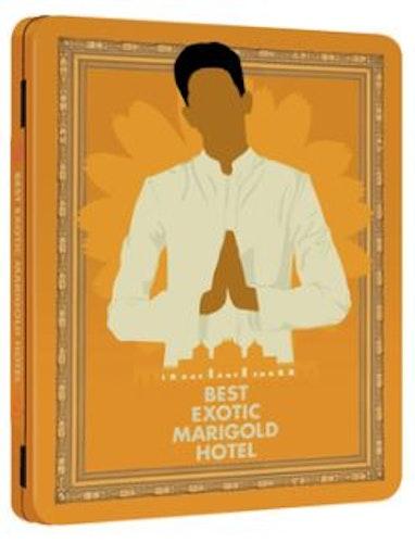 The Best Exotic Marigold Hotel Steelbook bluray / Hotell Marigold (import)