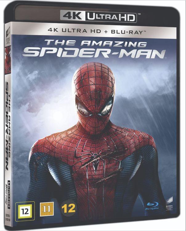 The amazing spider-man 4K UHD bluray
