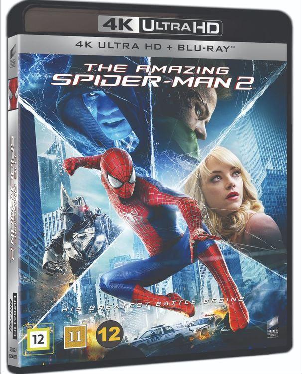 Amazing Spider-man 2 4K UHD bluray