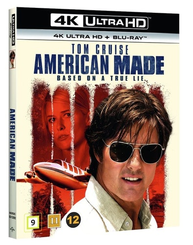 AMERICAN MADE 4K UHD bluray