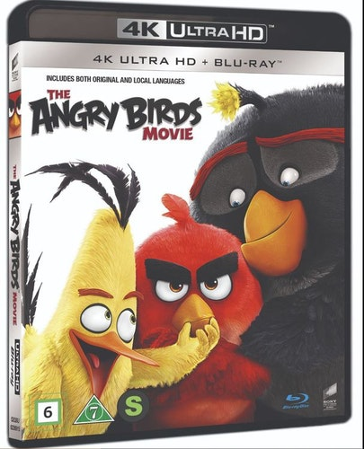 Angry birds the movie 4K UHD bluray