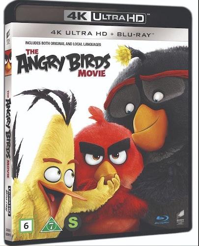 Angry birds the movie 4K UHD bluray