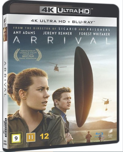 Arrival 4K UHD bluray