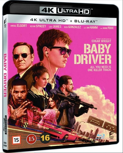 Baby Driver 4K UHD bluray