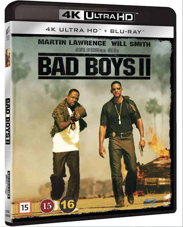 Bad boys 2 4K UHD bluray
