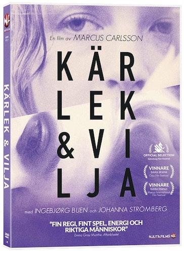 Kärlek & vilja DVD