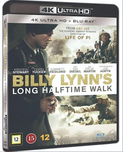 Billy Lynn's: Long Halftime Walk 4K UHD bluray