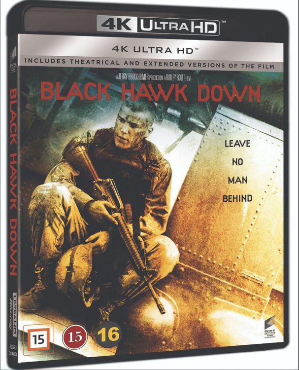 Black hawk down 4k UHD bluray