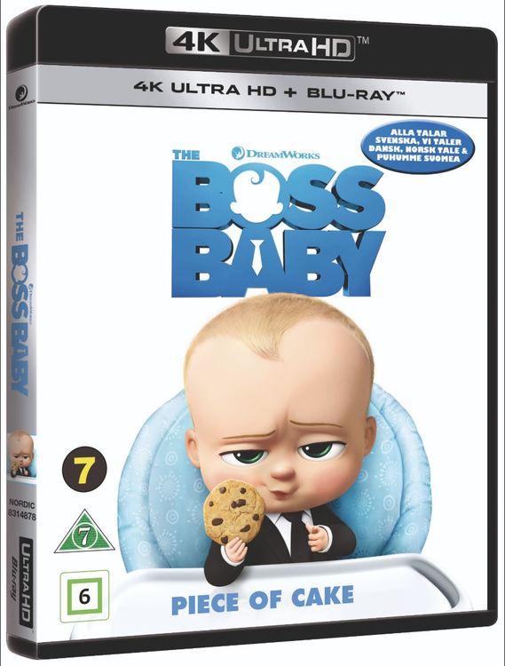 Baby-bossen 4K UHD bluray