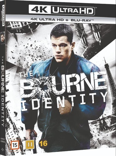The Bourne Identity 4K Ultra HD