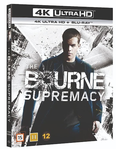 Bourne supremacy 4K UHD bluray