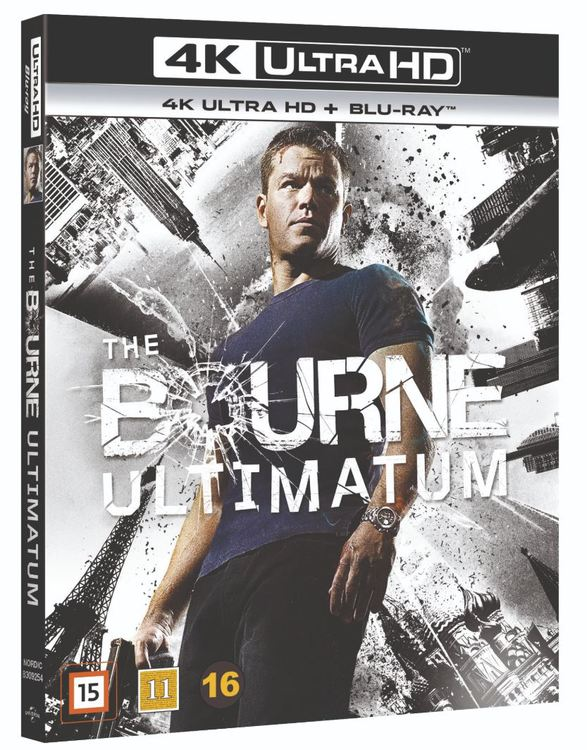 Bourne ultimatum 4K UHD bluray