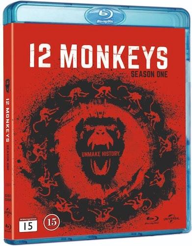 12 Monkeys säsong 1 bluray