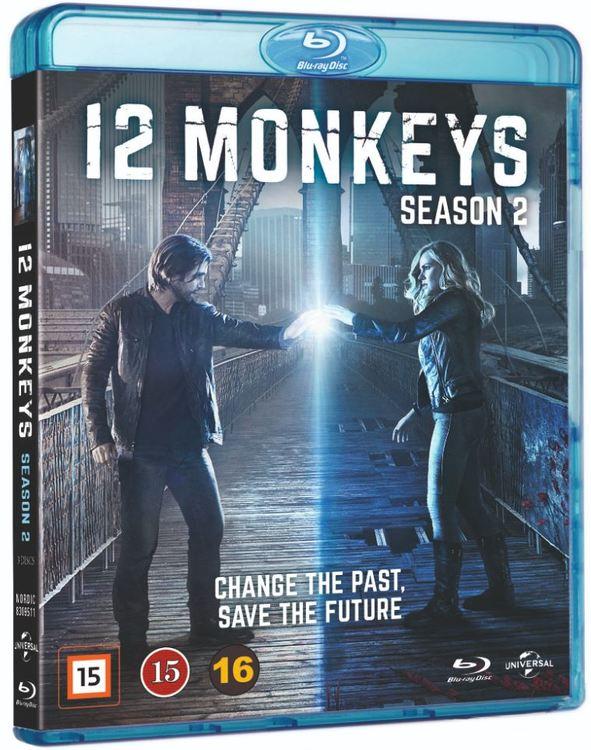 12 Monkeys säsong 2 bluray