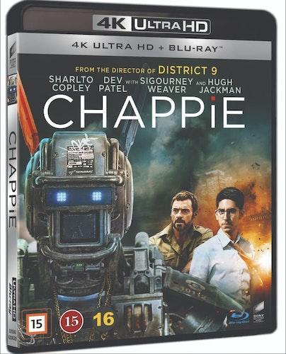 Chappie 4K UHD bluray