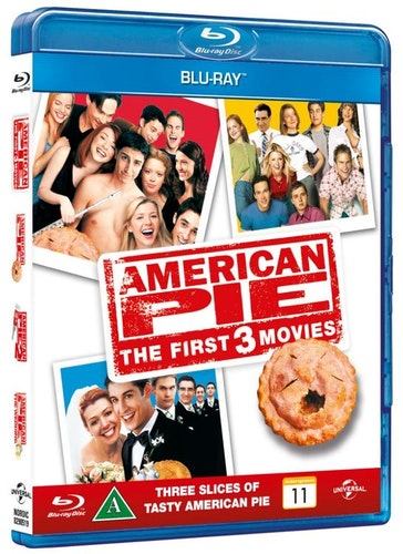 American pie 1-3 BOX bluray