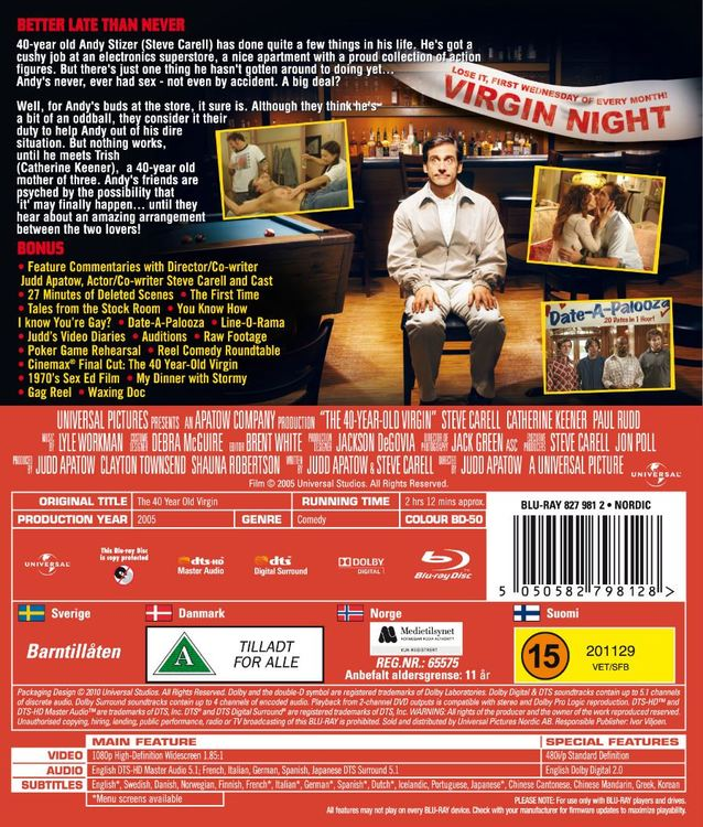 40 year old virgin bluray