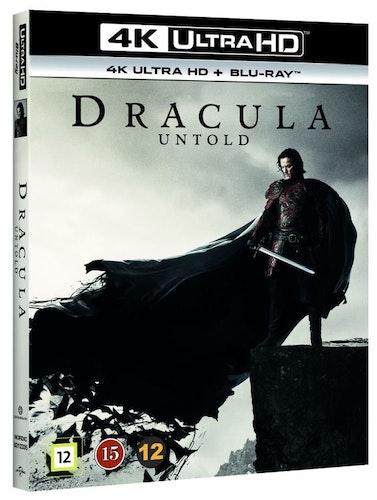 Dracula Untold 4K UHD bluray
