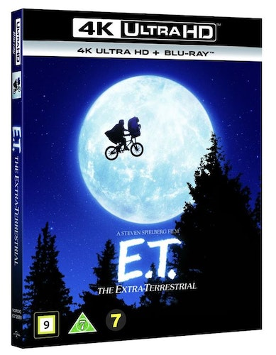 E.T.: THE EXTRA-TERRESTRIAL 4K UHD bluray